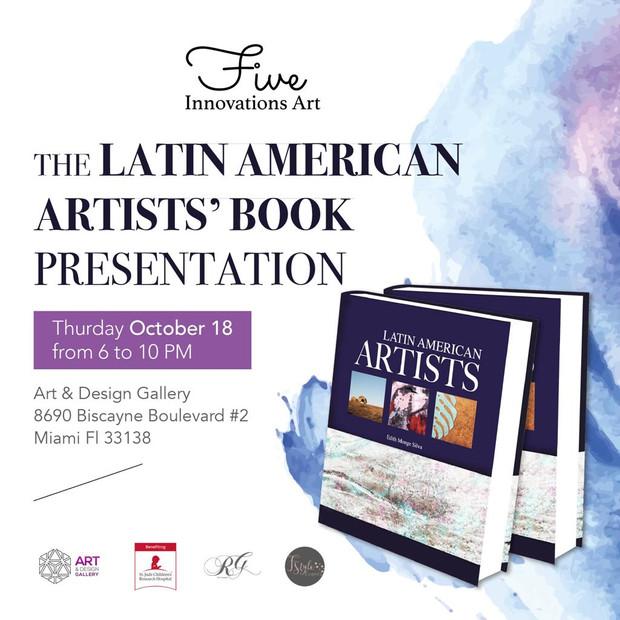 The Latin American Artist's Book Presentation/ Art Exhibit/ Grand Opening Night/ Thursday Octobe