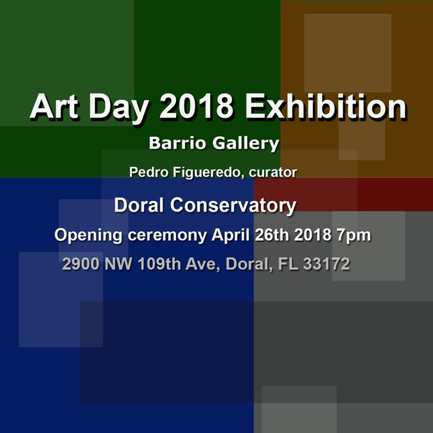 Art Day 2018 Exhibition Barrio Gallery Opening Ceremony April 26th 7 pm