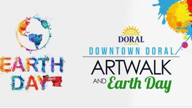 Earth Day Art Exhibit. April 22