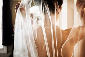 bride, wedding veil