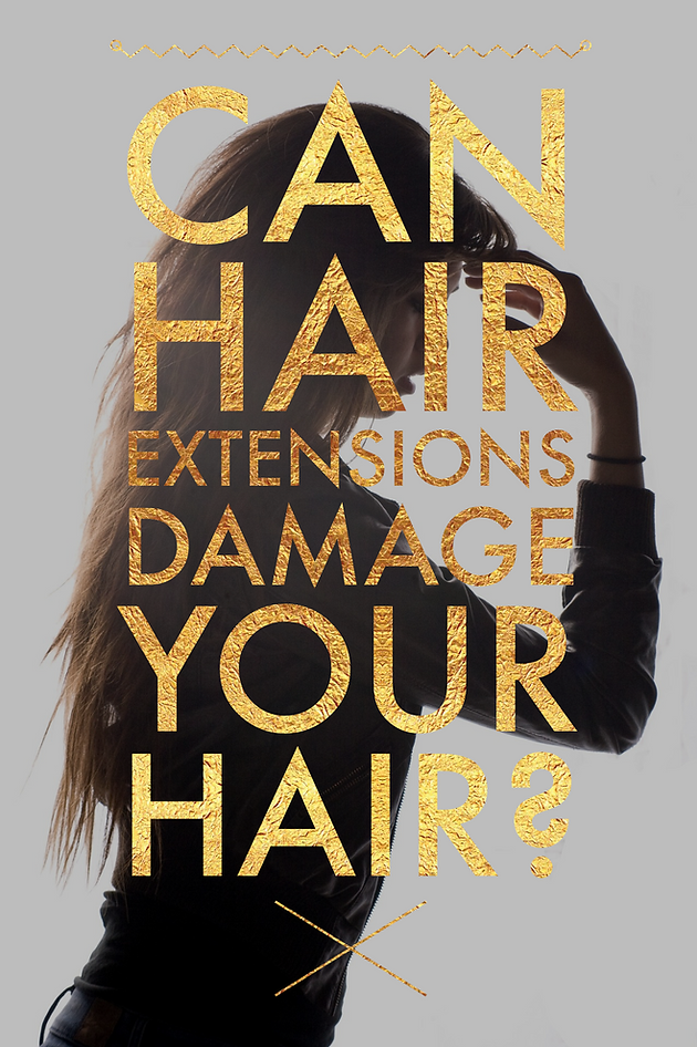 Do Hair Extensions Damage Your Hair Hair By Anneliese