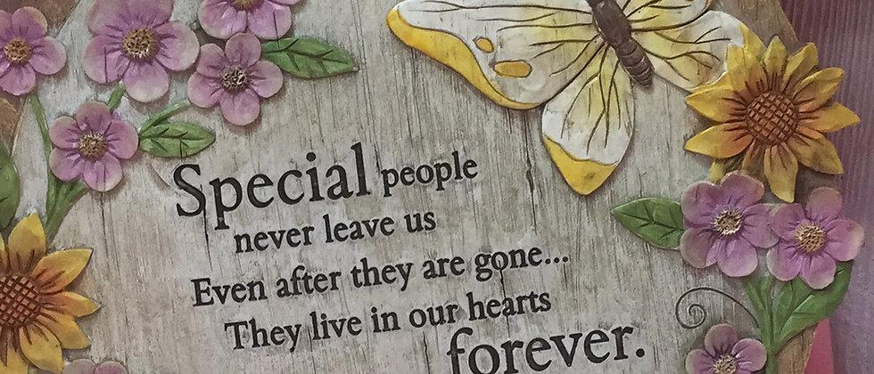 Special people garden stone