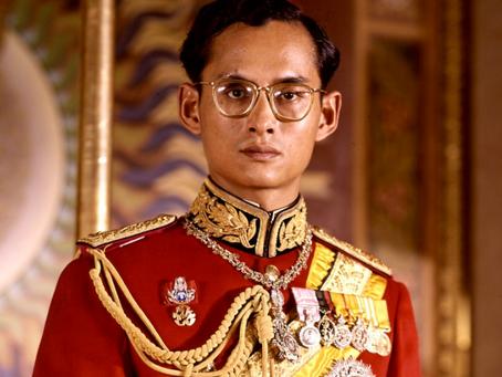 Tribute to King Bhumibol Adulyadej
