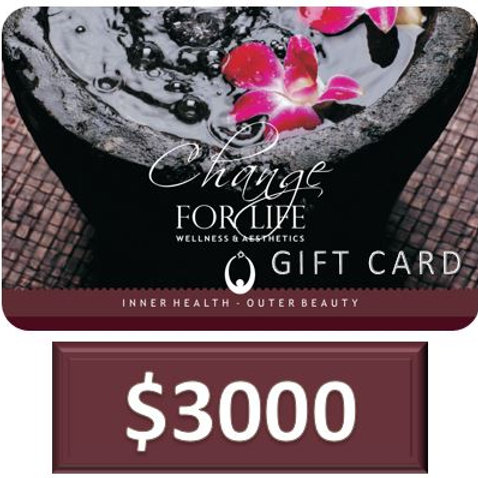 Gift Card $3000