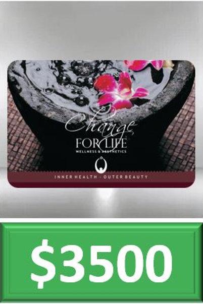 Gift Card $3500