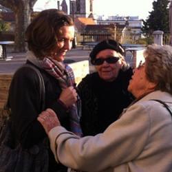 Arlette Castagner et Madame Doré