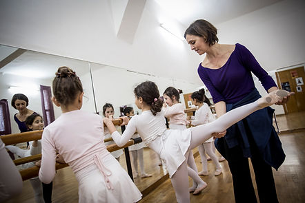 Ballet en Cannes avec Karine Seneca