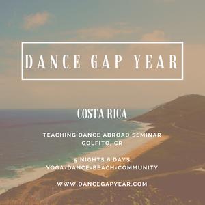 Defining Dance Gap Year