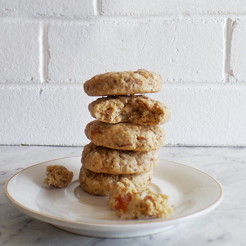 Apricot and Almond Cookies