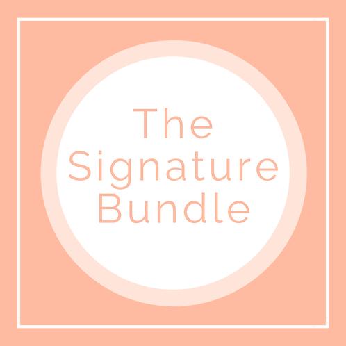 The Signature Bundle