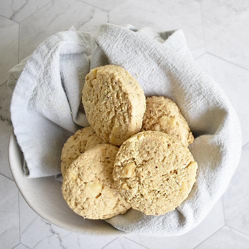 White Choc Chip and Macadamia Nut Cookies