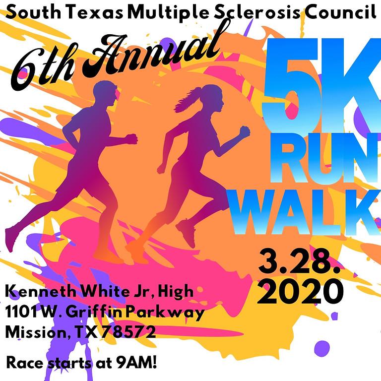 6th Annual South Texas Multiple Sclerosis Council Run/Walk