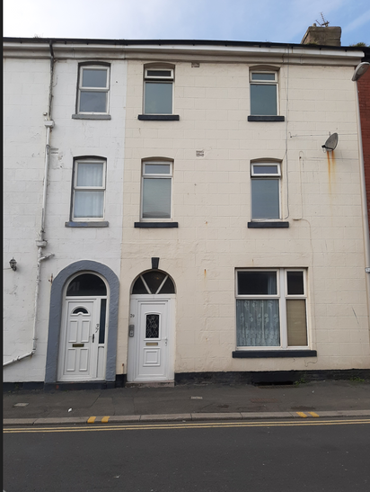 Another property bought in Blackpool