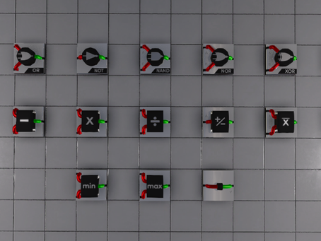Powered Joints, Logic and Math Blocks Now Live!