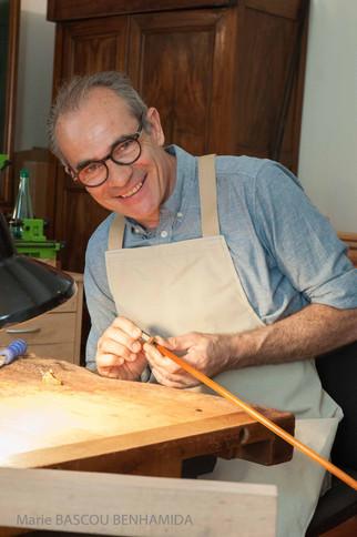 Photo luthier Pascal Camurat