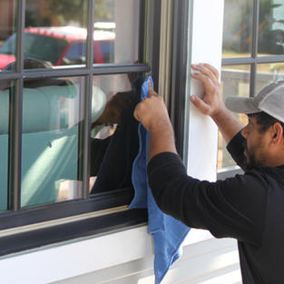 TRADITIONAL WINDOW CLEANING