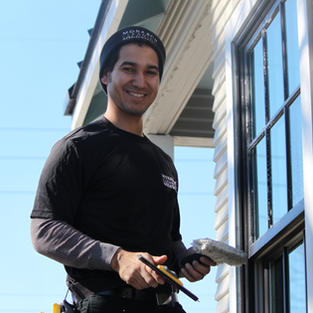 ERIC CLEANING WINDOWS