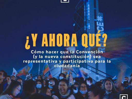 Cómo hacer que la Convención (y la nueva constitución) sea representativa y participativa