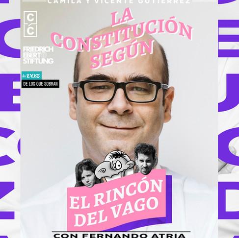PODCAST | La Constitución Según: El Rincón del Vago con Fernando Atria.