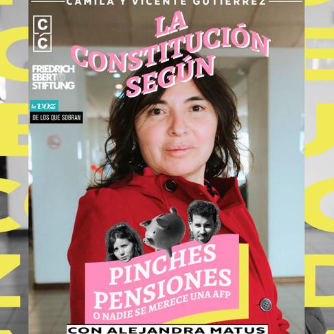 PODCAST   La Constitución Según: ¡Pinches Pensiones! con Alejandra Matus