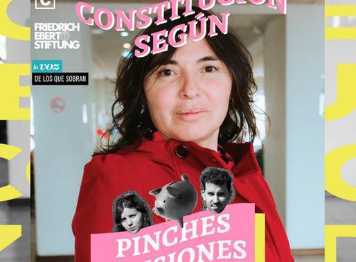 PODCAST | La Constitución Según: ¡Pinches Pensiones! con Alejandra Matus