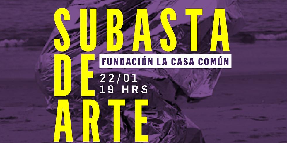 SUBASTA DE ARTE LA CASA COMÚN