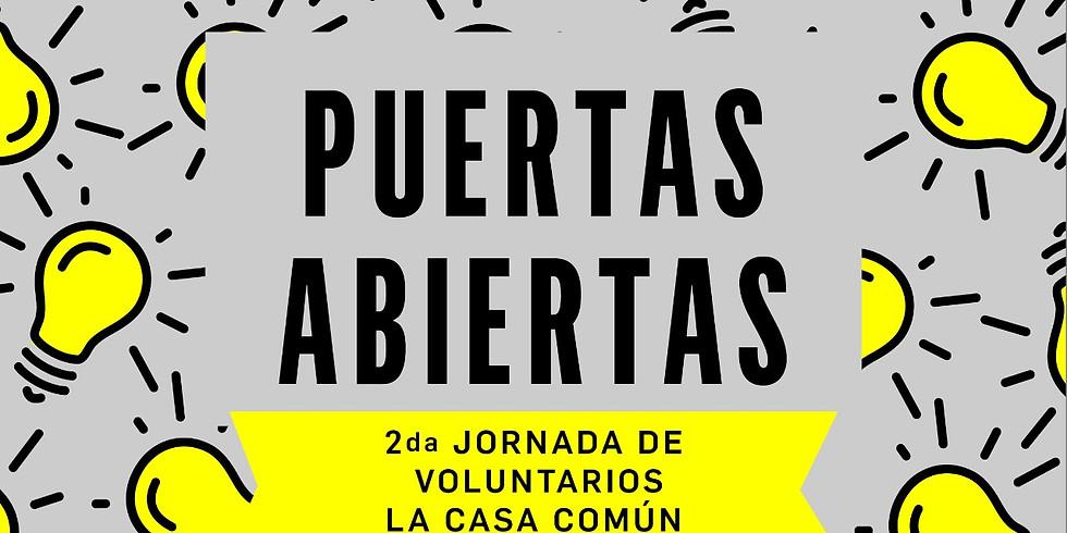 Puertas Abiertas: segunda jornada de voluntarios