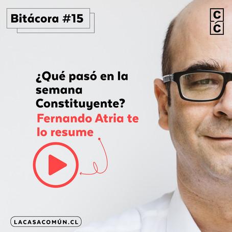 Bitácora de la Convención 15