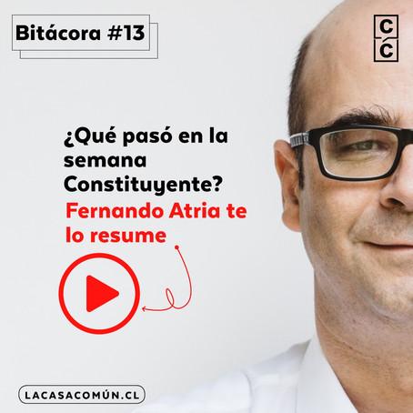 Bitácora de la Convención 13