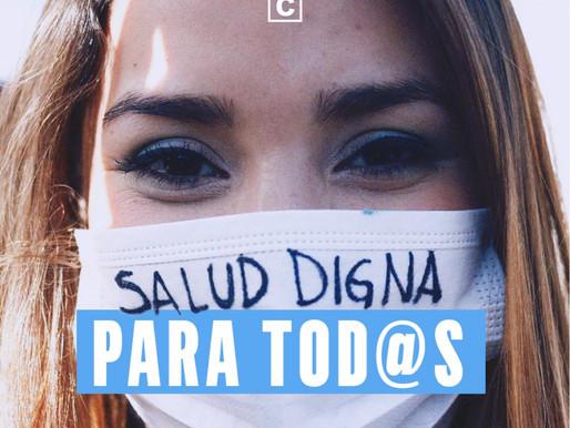 Salud digna para tod@s: proyecto busca garantizar la salud como un derecho social.