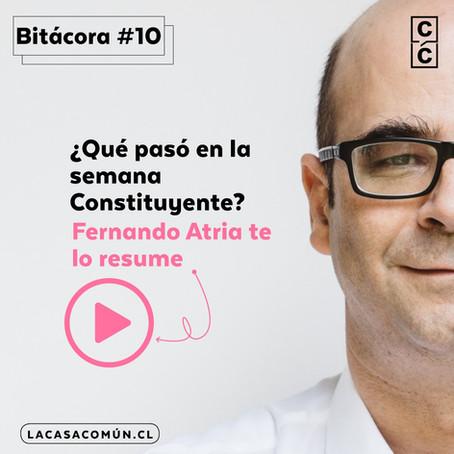 Bitácora de la Convención 10