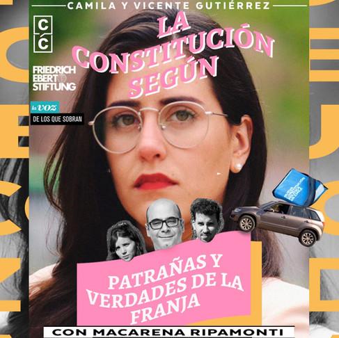 PODCAST   Patrañas y verdades de la franja con Macarena Ripamonti & Fernando Atria
