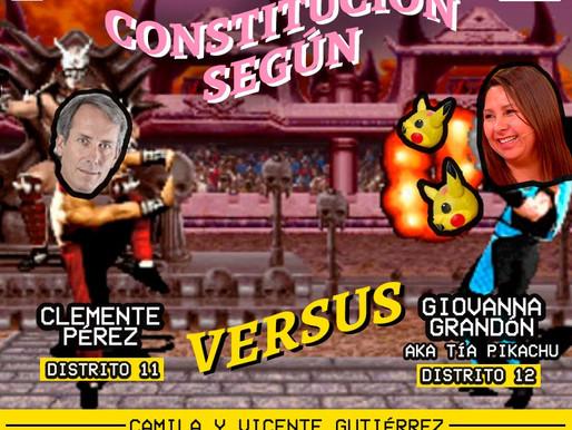 PODCAST | Clemente Pérez y la Tía Pikachú se enfrentan en un nuevo versus de La Constitución Según