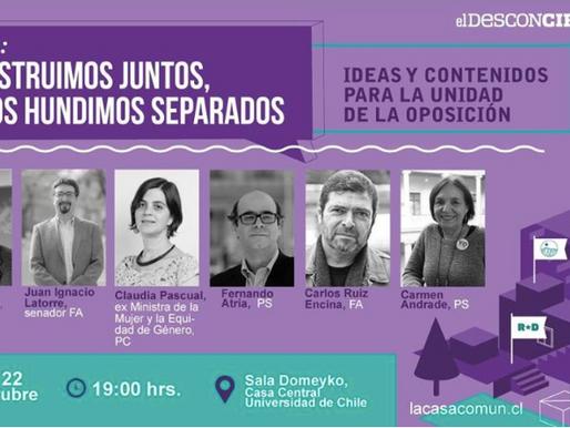 """""""Construimos Juntos o Nos Hundimos Separados"""": Fundación La Casa Común realizará foro..."""