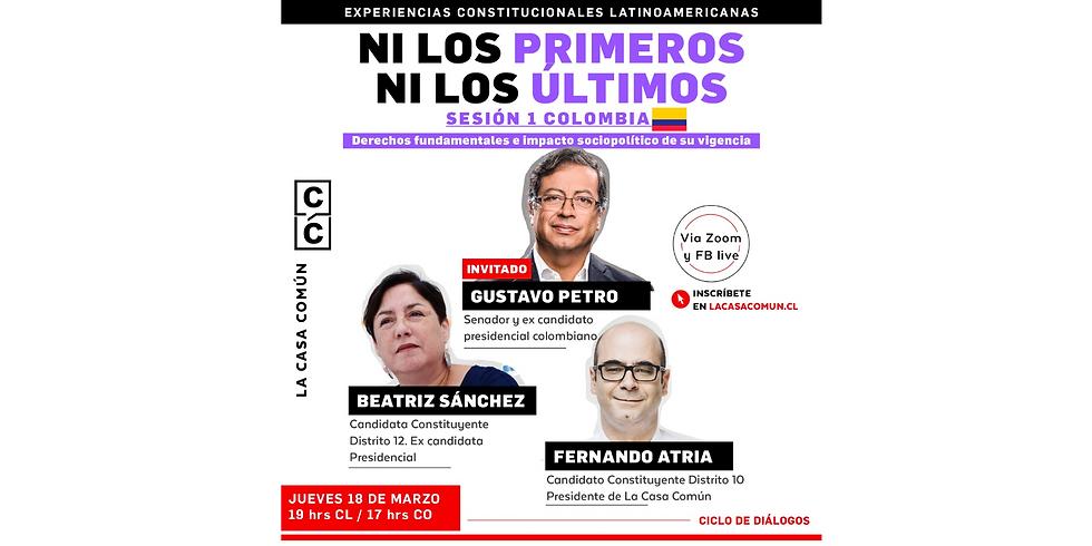 Ni los primeros ni los últimos: experiencia constitucional de Colombia