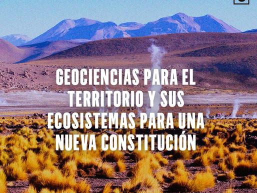 Geociencias para el Territorio y sus Ecosistemas en una Nueva Constitución Política