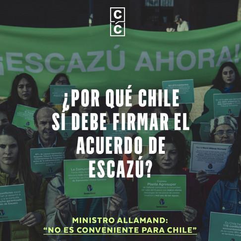 ¿Por qué Chile sí debe firmar el acuerdo de Escazú?