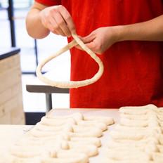 Hand Twisted Philadelphia Style Soft Pretzel Bakery