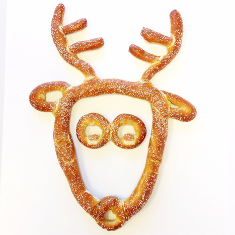 Holiday and Christmas Themed Soft Pretzels