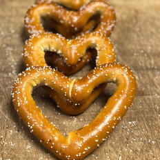 Valentine's Day Snack Pretzel Hearts