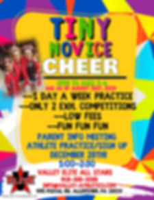 Copy of TINY CHEER AND TUMBLE - Made wit