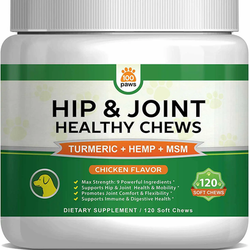 100 Paws Hip & Joint Chews for Dogs
