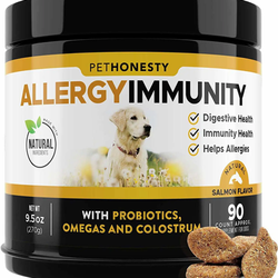 PetHonesty Allergy Relief Immunity Supplement for Dogs
