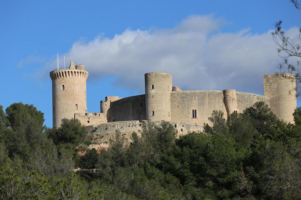 Bellver Castle - Commanding hilltop position 3km west of Palma