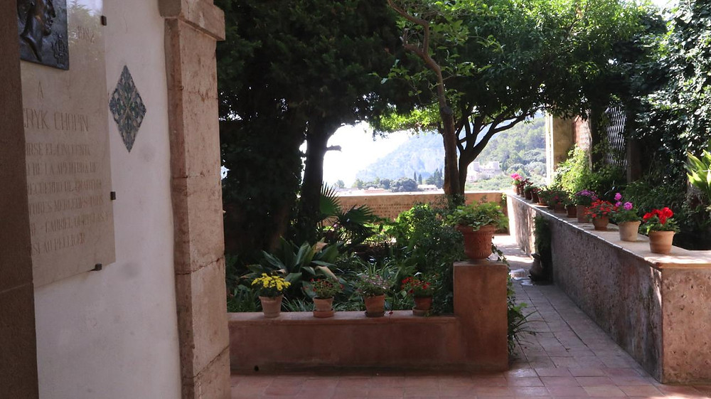 Garden in the Charterhouse Valldemossa