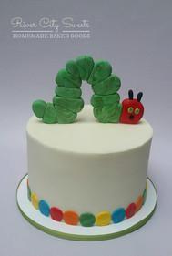 Hungry Hungry Caterpillar Cake