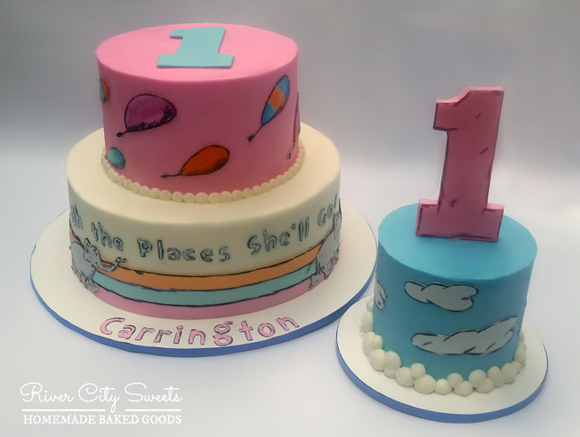 Oh the Places You'll Go Cakes