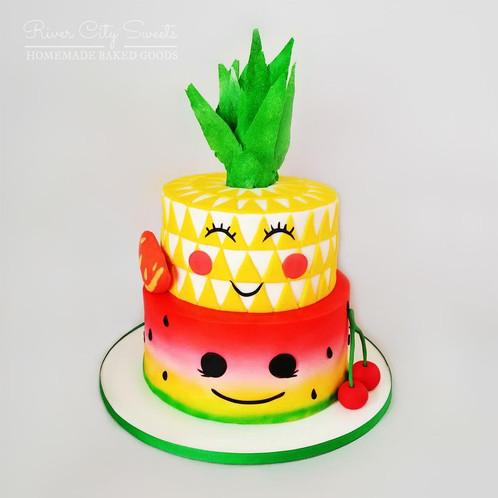 Happy Fruit Cake