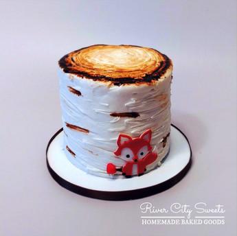 Woodland Smash Cake