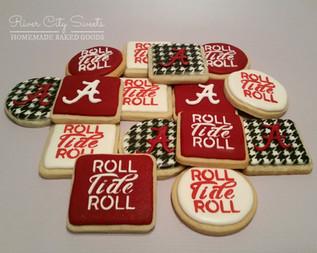 University of Alabama Cookies
